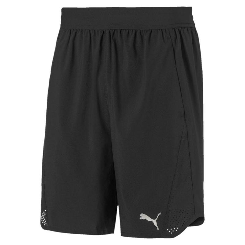 Puma Power Shorts Mens Black/White
