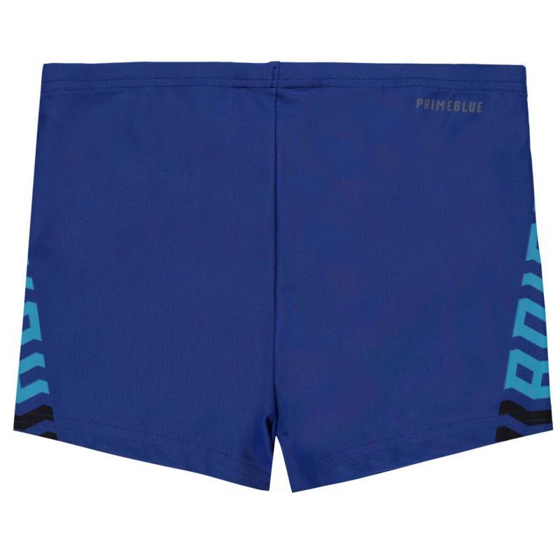 Plavky adidas Fit BX Swim Shorts Junior Boys Royal/Blue/Blk
