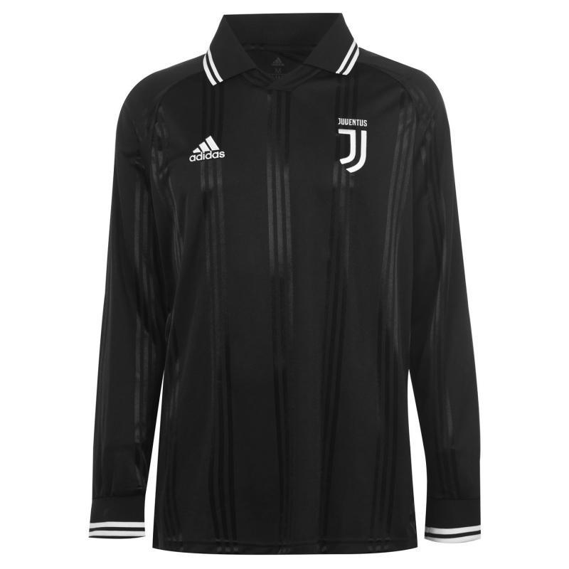 Adidas Juventus Icons Jersey Mens Black