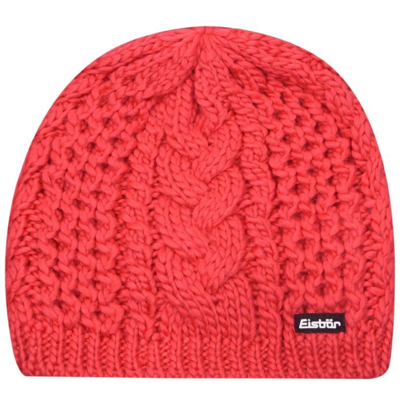 Eisbär Eisbar Afra Knit Hat Womens Pink