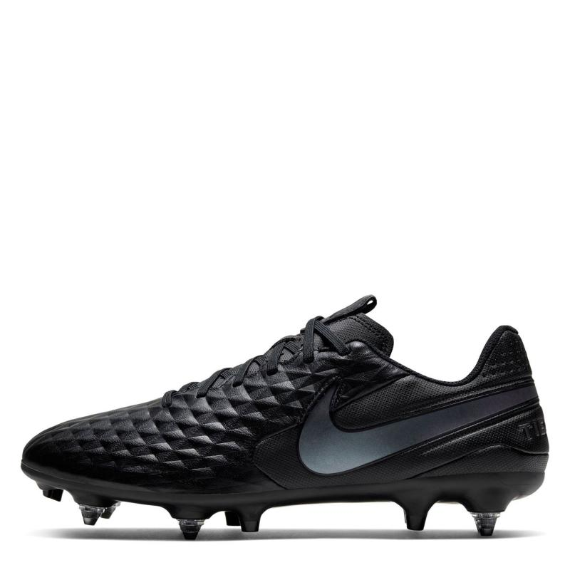 Nike Tiempo Legend 8 Academy Anti Clog Soft Gound Football Boots BLACK/BLACK