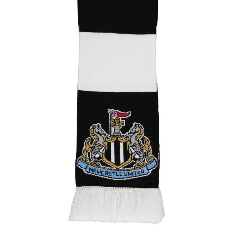 Team Bar Scarf Black/White
