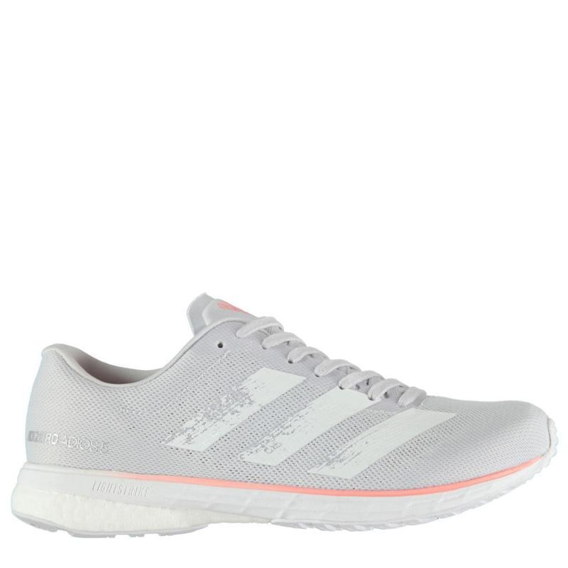 Adidas Adizero Adios 5 Ladies Running Shoes Grey/Pink
