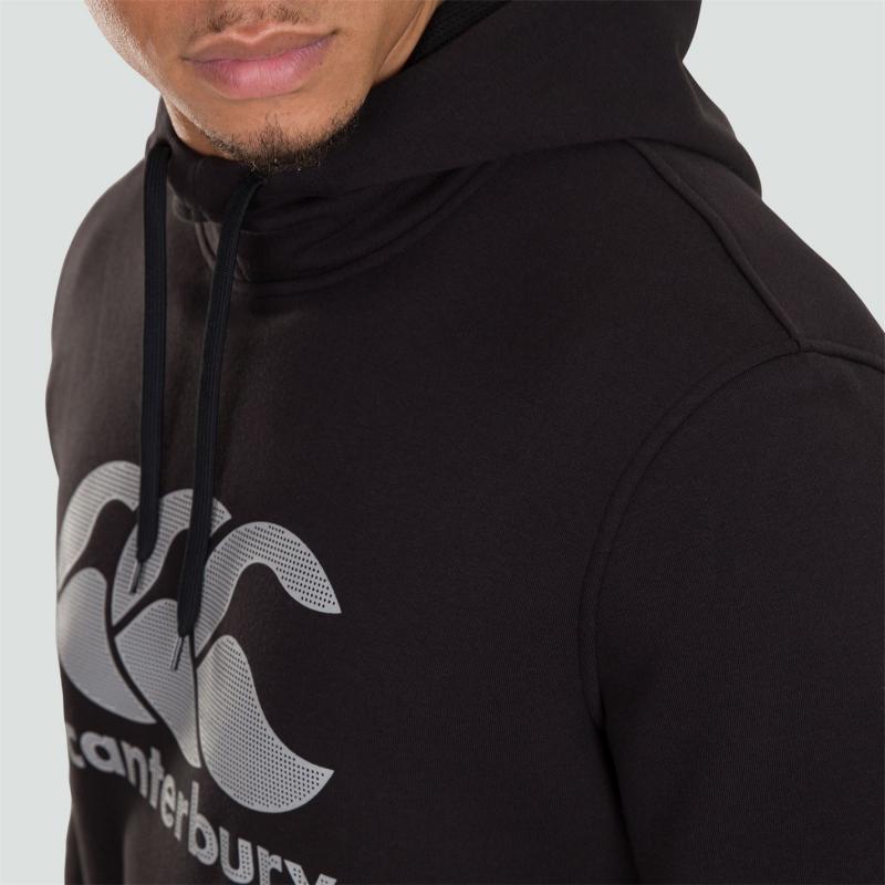 Mikina Canterbury OTH Fleece Hoodie Mens Black