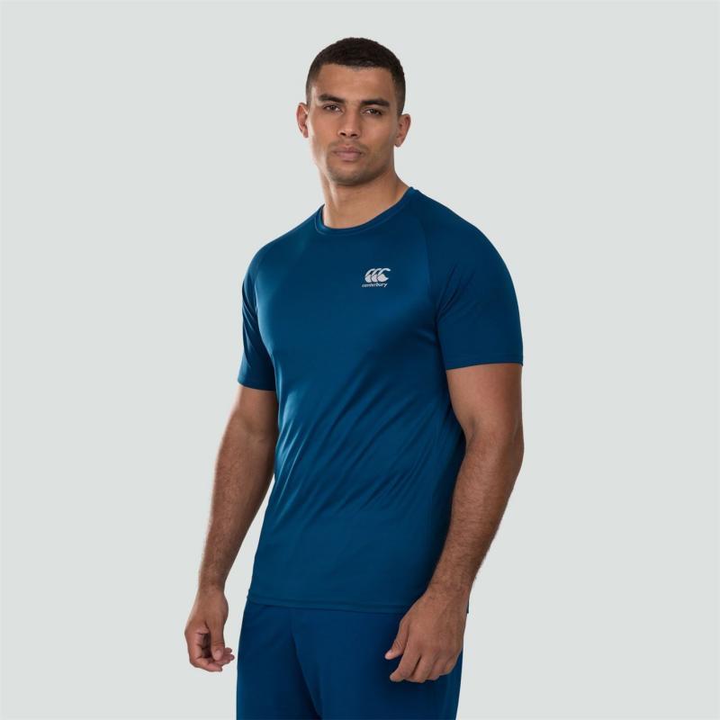 Tričko Canterbury Vapodri T Shirt Mens Blue