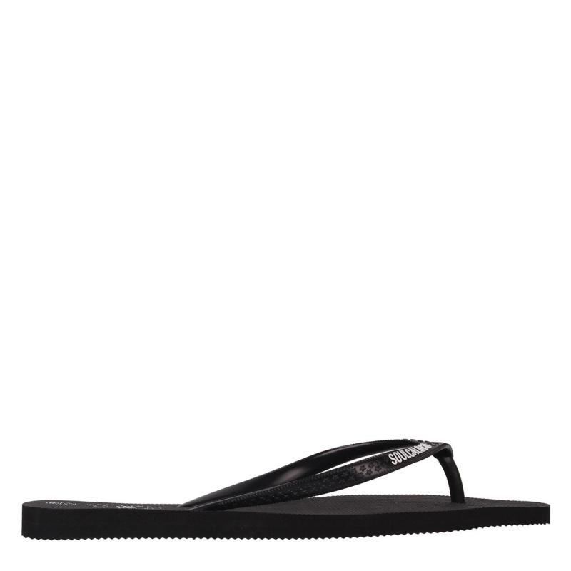 Obuv SoulCal Maui Ladies Flip Flops Black