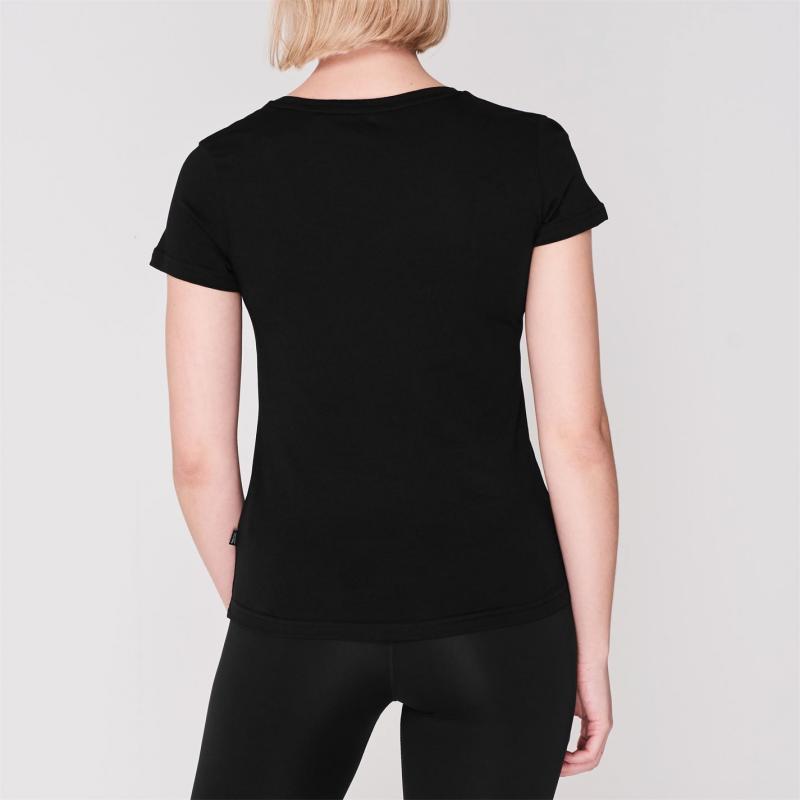 Tričko Puma Big Cat QT T Shirt Ladies Black