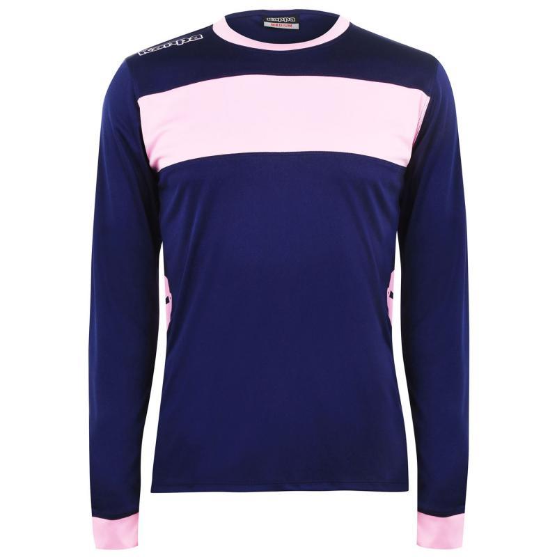 Tričko Kappa Remilio Long Sleeve T Shirt Blue/Pink