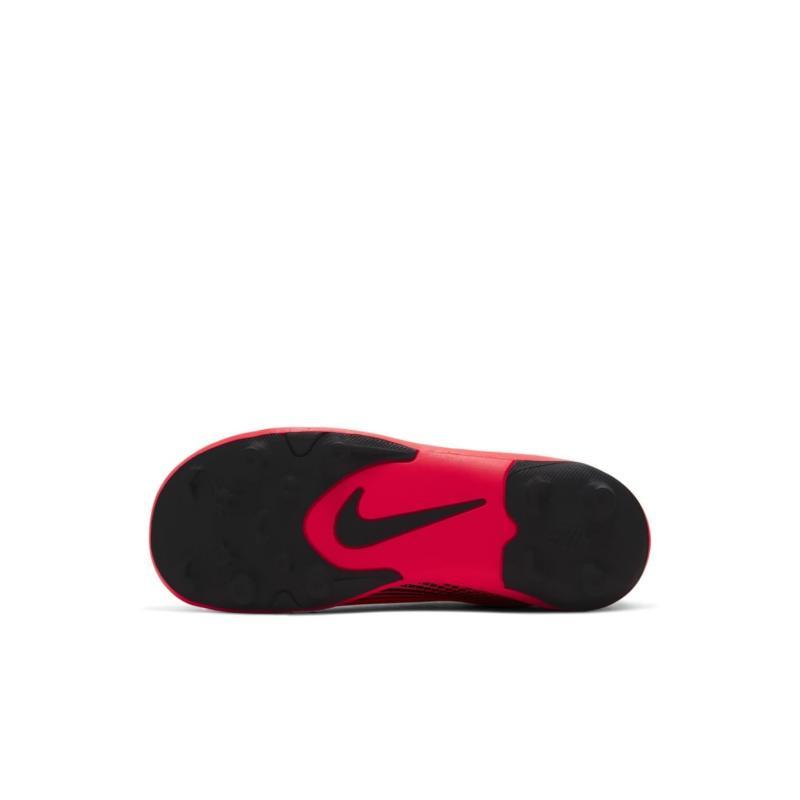 Nike Mercurial Vapor Club Childrens FG Football Boots Crimson/Black