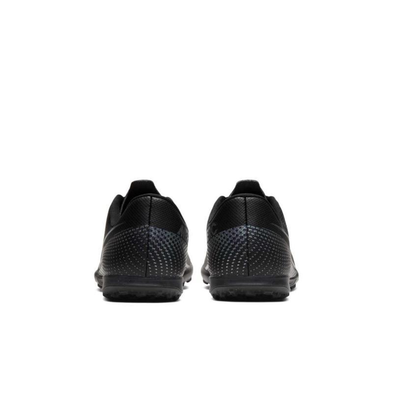 Nike Mercurial Vapor Club Junior Astro Turf Trainers BLACK/BLACK