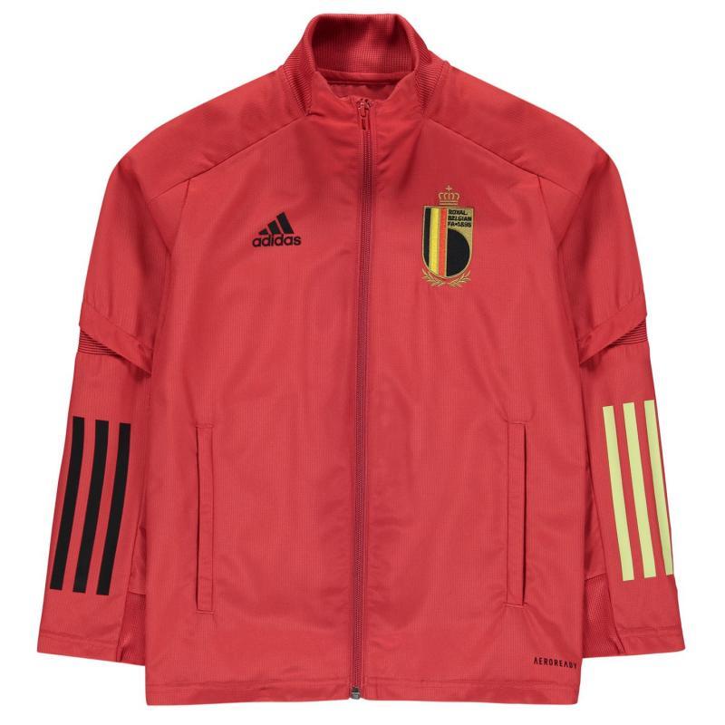 Adidas Belgium Jacket Junior Boys Red
