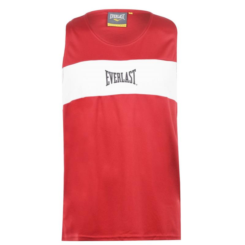 Tílko Everlast Muscle Vest Mens Red/White