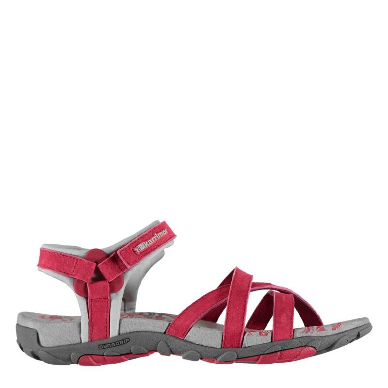 Karrimor Salina Leather Ladies Walking Sandals Raspberry