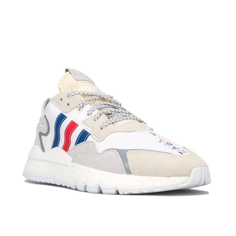 Adidas Originals Mens Nite Jogger Trainers White