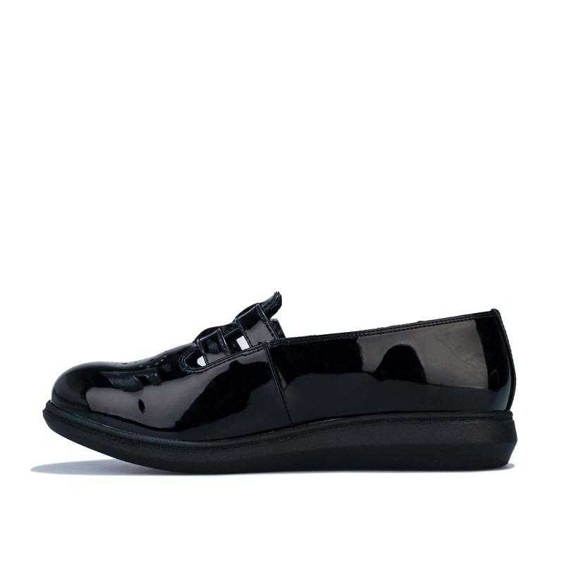 Rocket Dog Womens Menta Patent Shoes Black