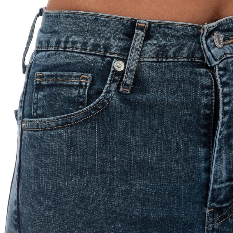 Levis Womens Mile High Super Skinny Jeans Denim