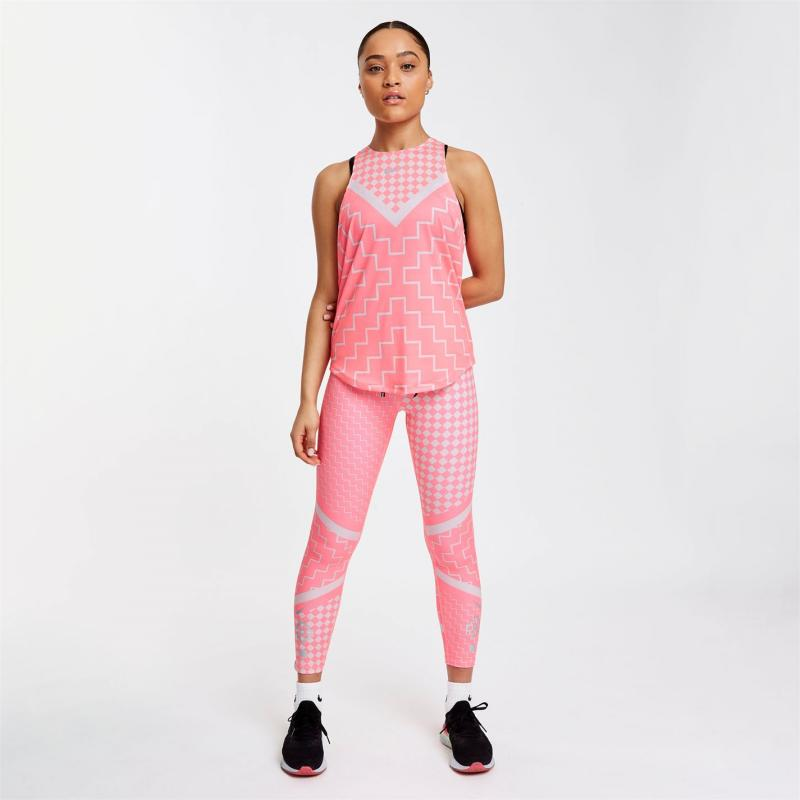 Nike Runway Tank Top Ladies Pink/Reflect