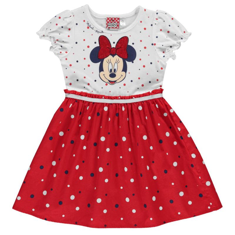 Šaty Character Woven Dress Infant Girls Minnie Mouse