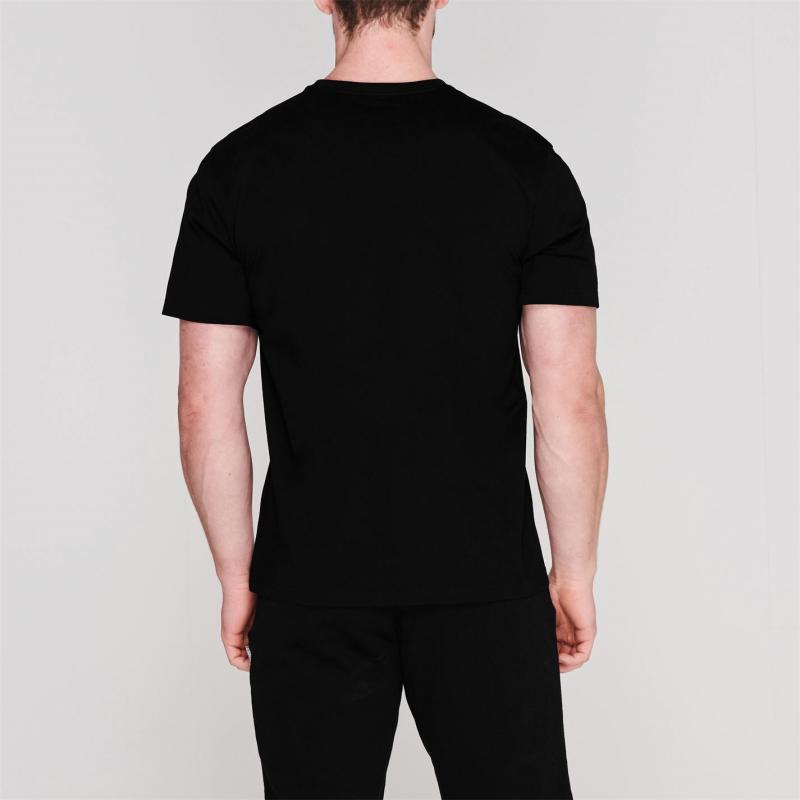 Tričko Everlast E Logo T Shirt Black/Teal