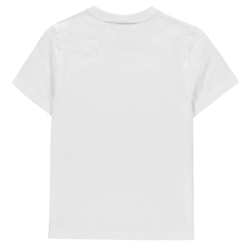 Tričko Everlast Graphic Logo T-Shirt Junior Boys White E Box