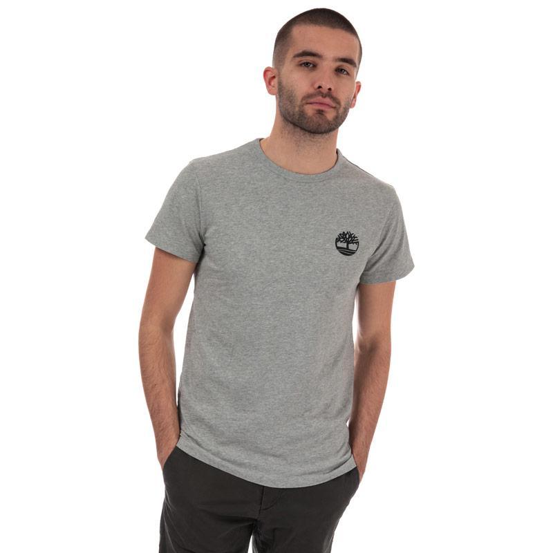Tričko Timberland Mens B-Logo Camo T-Shirt Grey