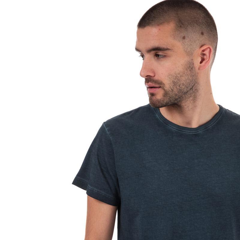 Tričko Timberland Mens Garment Dye T-Shirt Navy