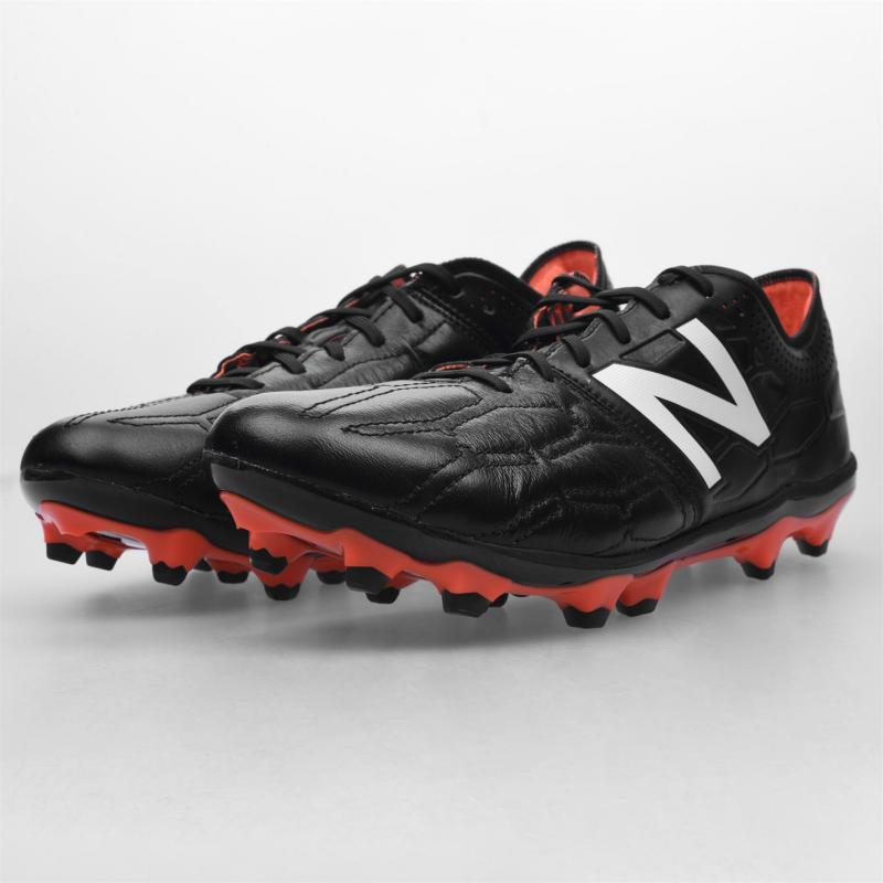 New Balance Balance Visaro Firm Ground Football Boots Black/Orange