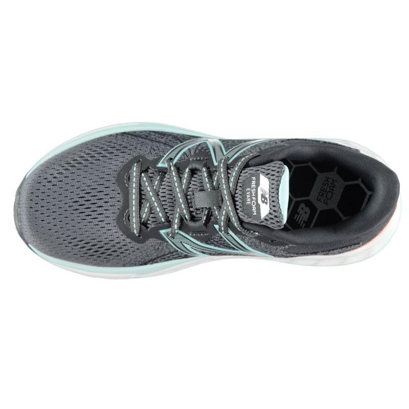 New Balance Evare Ladies Running Shoes Grey/Aqua