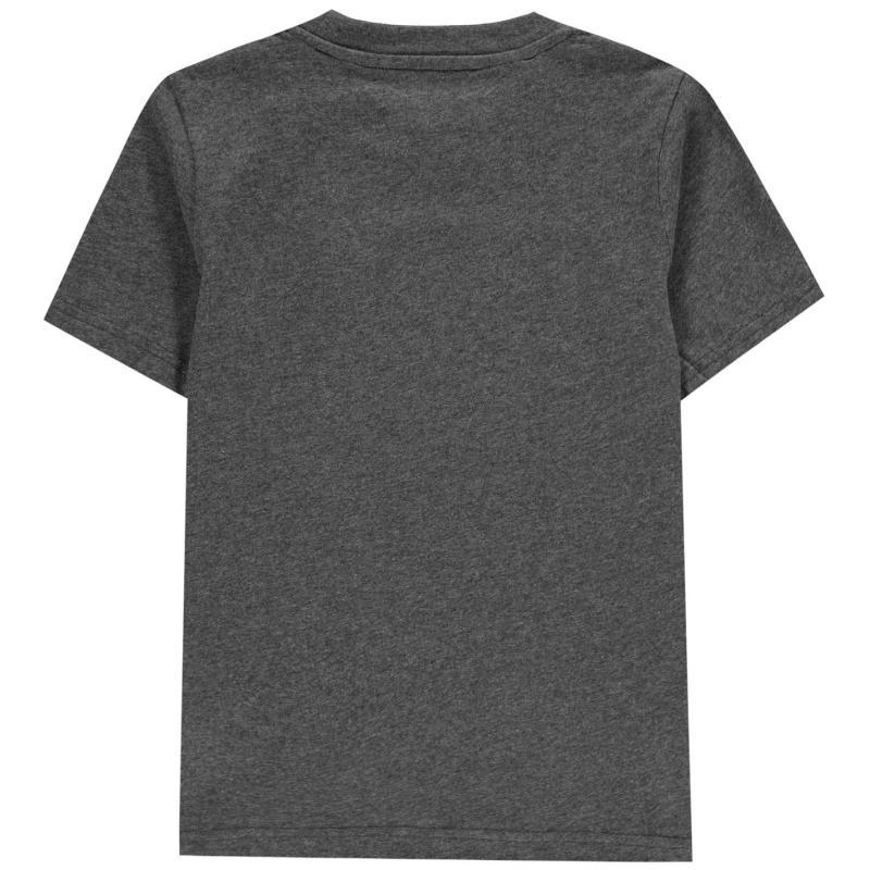 Tričko adidas Boost T-Shirt Junior Boys DkGreyMarl/Wht