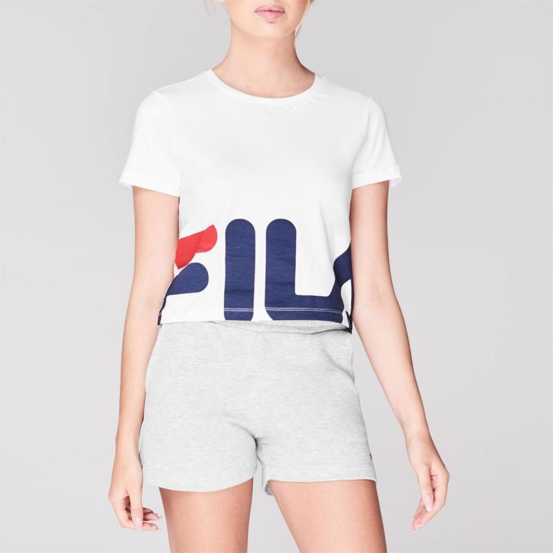 Tričko Fila Early Crop T Shirt Ladies White