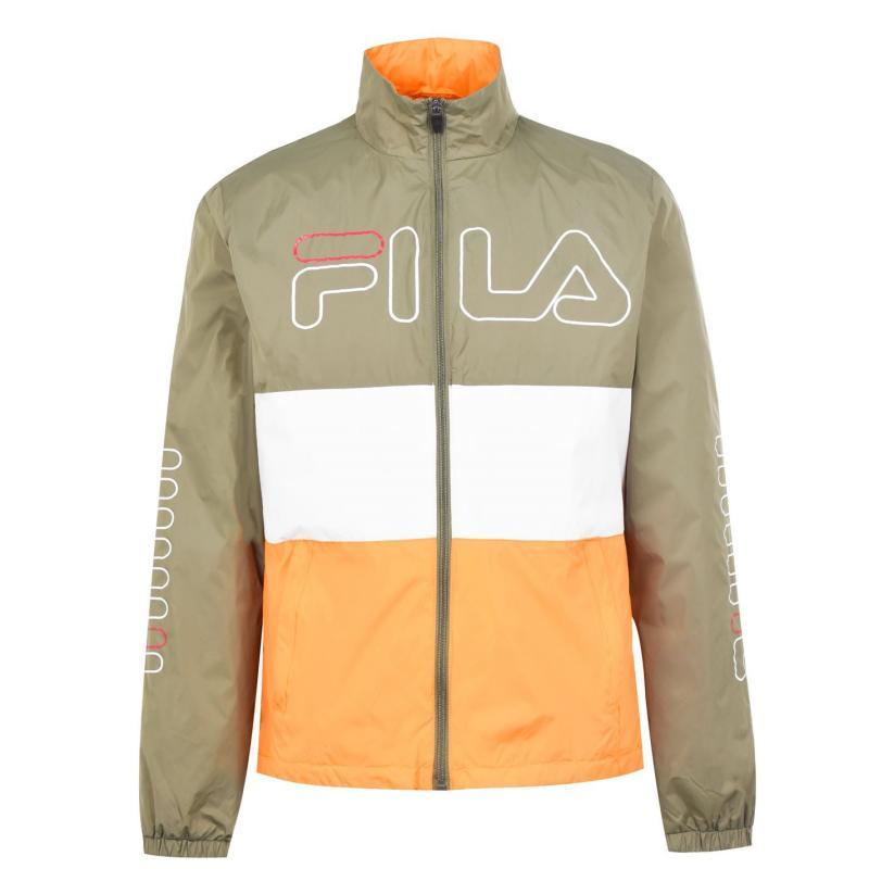 Fila Hugo Tracksuit Jacket Mens Green