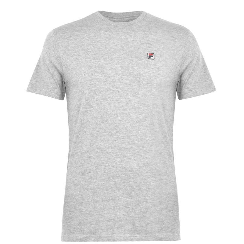 Tričko Fila Seamus T Shirt Mens Grey