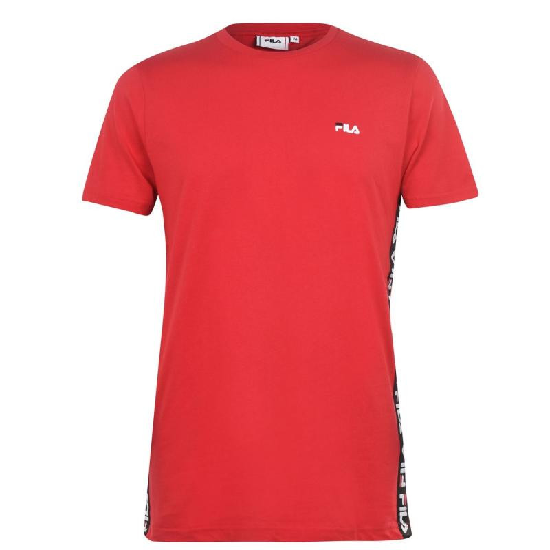 Tričko Fila Talan Short Sleeve T Shirt Mens Red