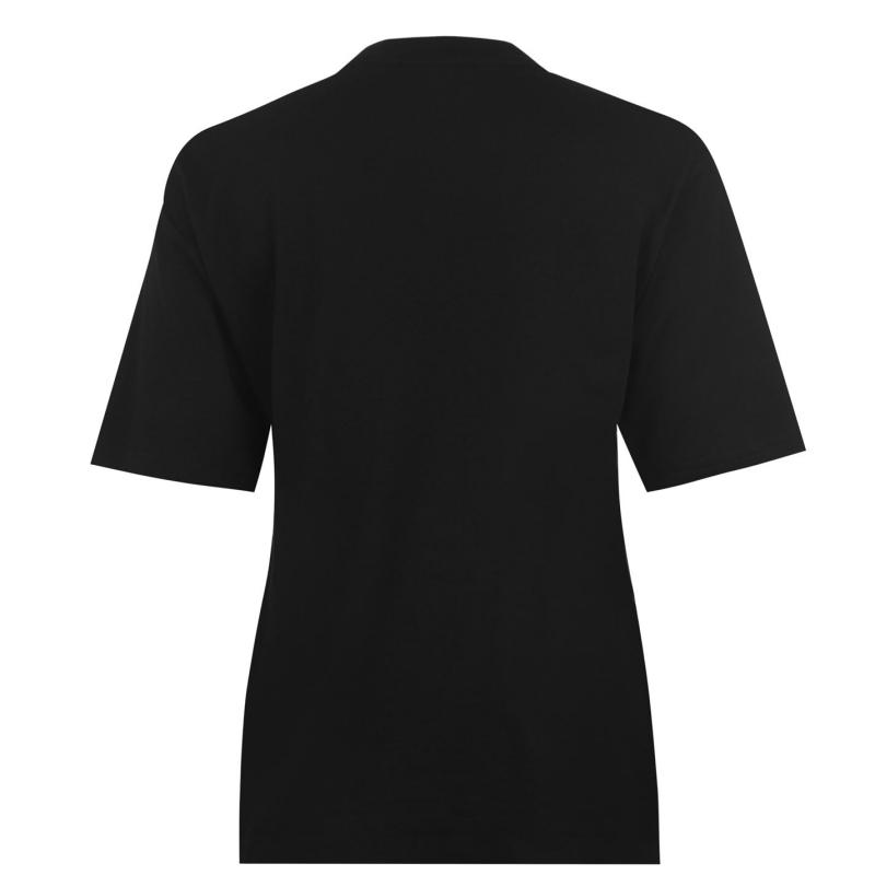 Fila Talita Short Sleeve T Shirt Ladies Black