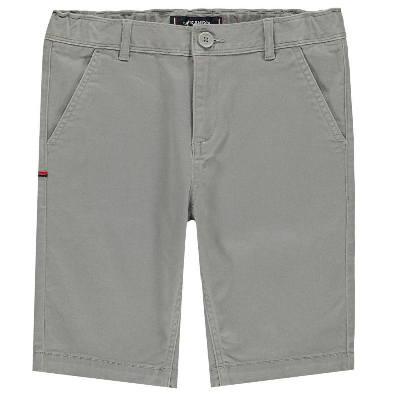 Kraťasy Kangol Chino Shorts Junior Boys Stone