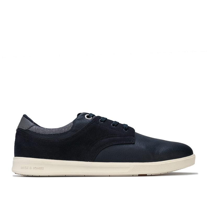 Boty Jack Jones Mens Spencer Combo Pump Trainers Navy