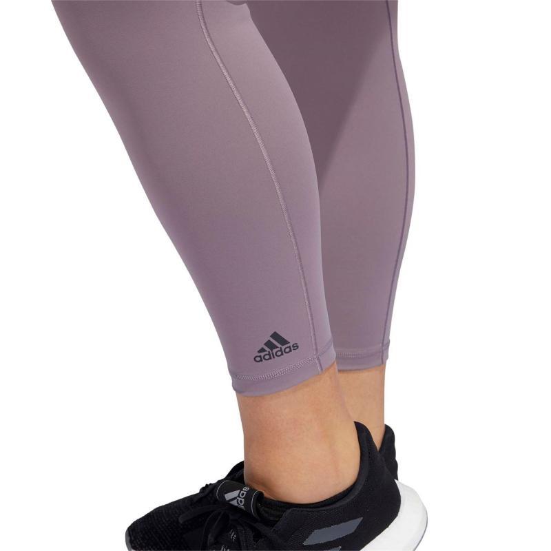 Adidas adidas Womens Believe This Solid 7/8 Leggings Legacy Purple