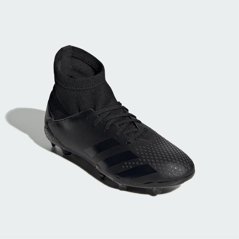 Adidas Predator 20.3 Junior FG Football Boots Black/Black
