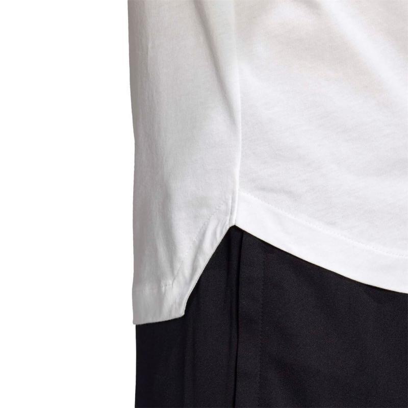 Tričko adidas Mens Football Tango Logo T-Shirt White