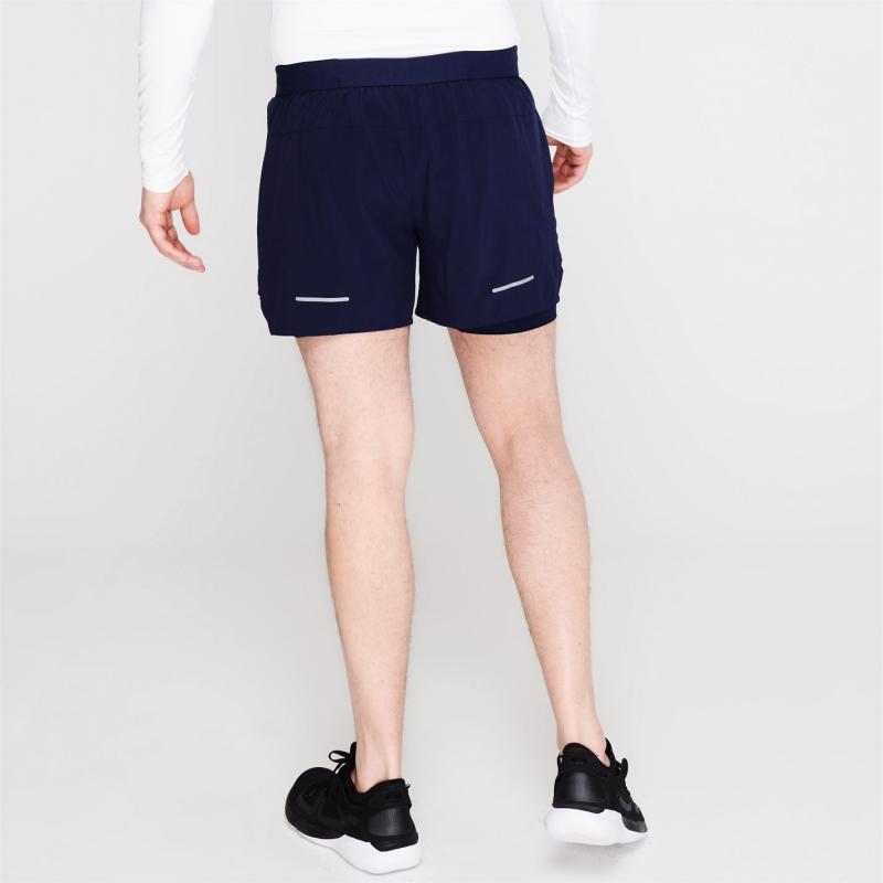 Asics Road 2in1 Shorts Mens Blue