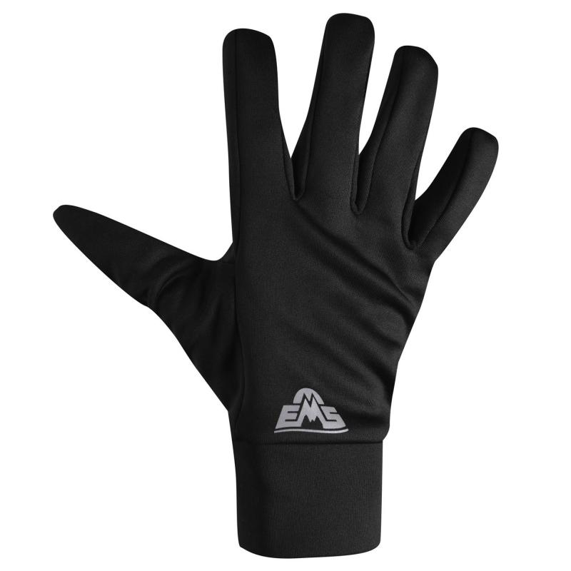 Eastern Mountain Sports Stretch Gloves Ladies Black