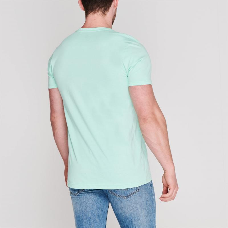 Tričko Hot Tuna Crew T Shirt Mens Aqua Camper