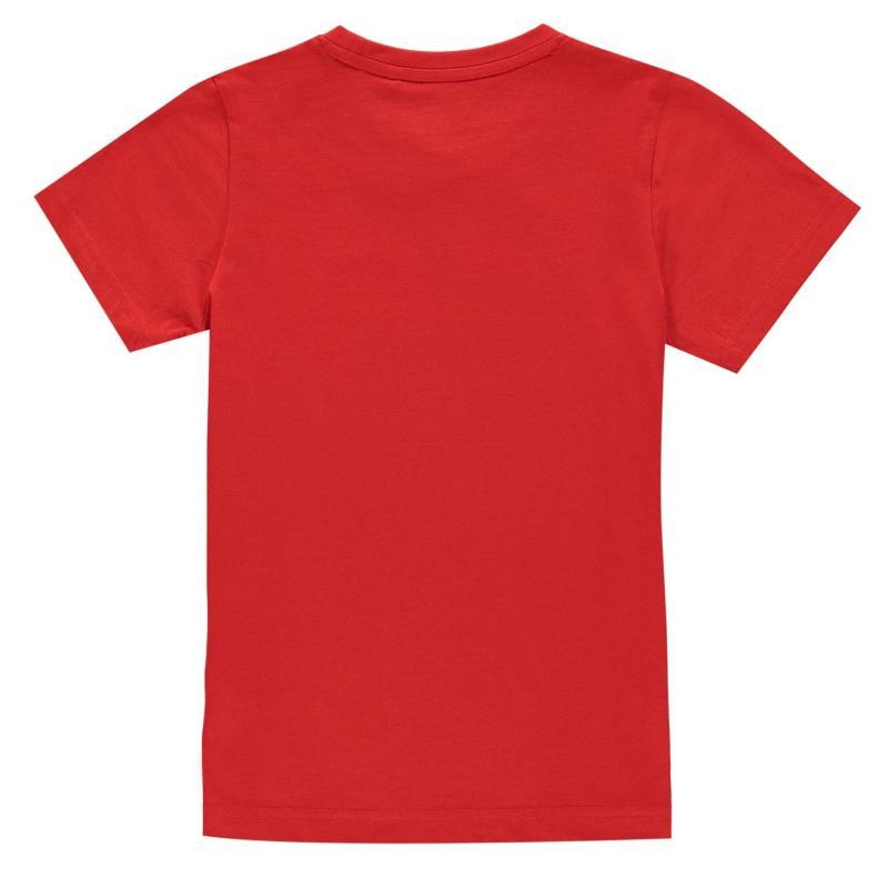 Tričko Hot Tuna T-Shirt Junior Boys High Risk Red