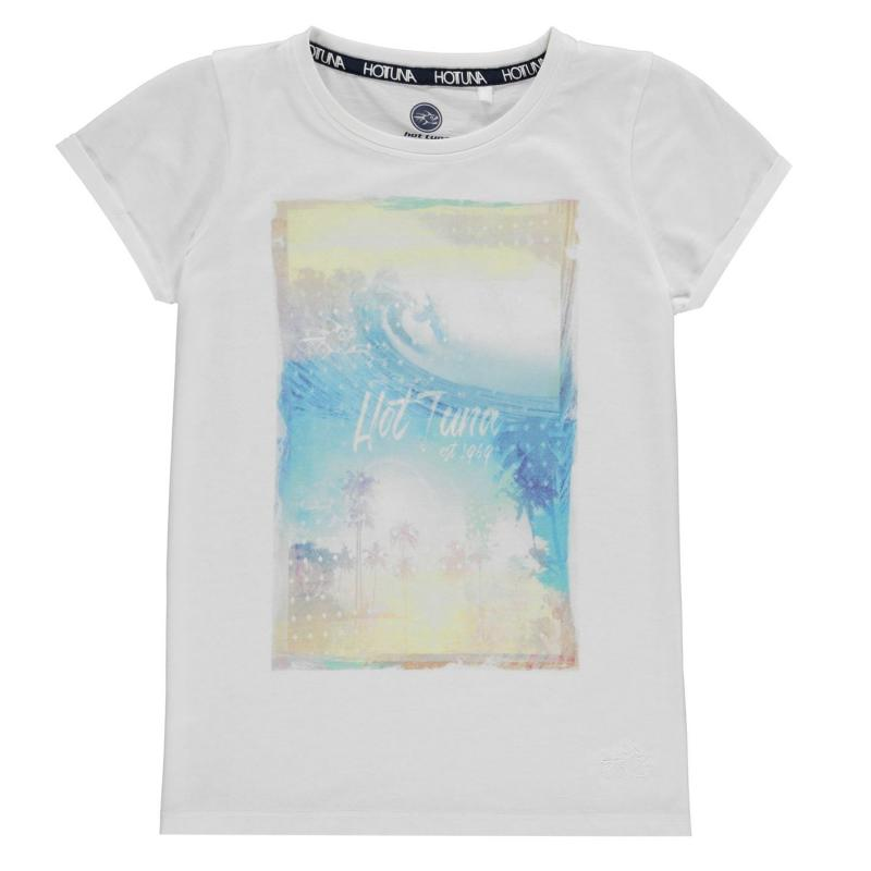 Hot Tuna T-Shirt Junior Girls White