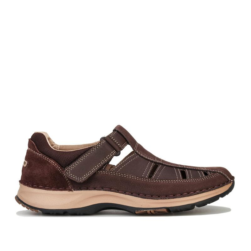 Rockport Mens RocSports Lite Five Fisherman Sandal Chocolate