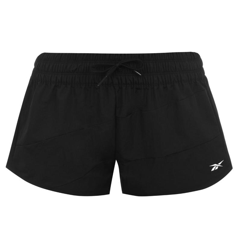 Reebok WOR Woven Shorts Ladies Black