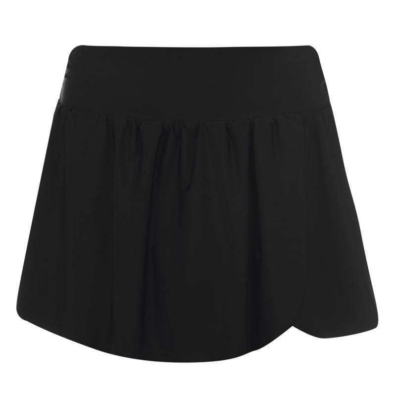Plavky Full Circle Swim Skirt Womens Black