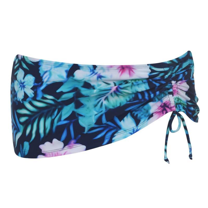 Plavky Full Circle Tie Bikini Bottoms I Floral