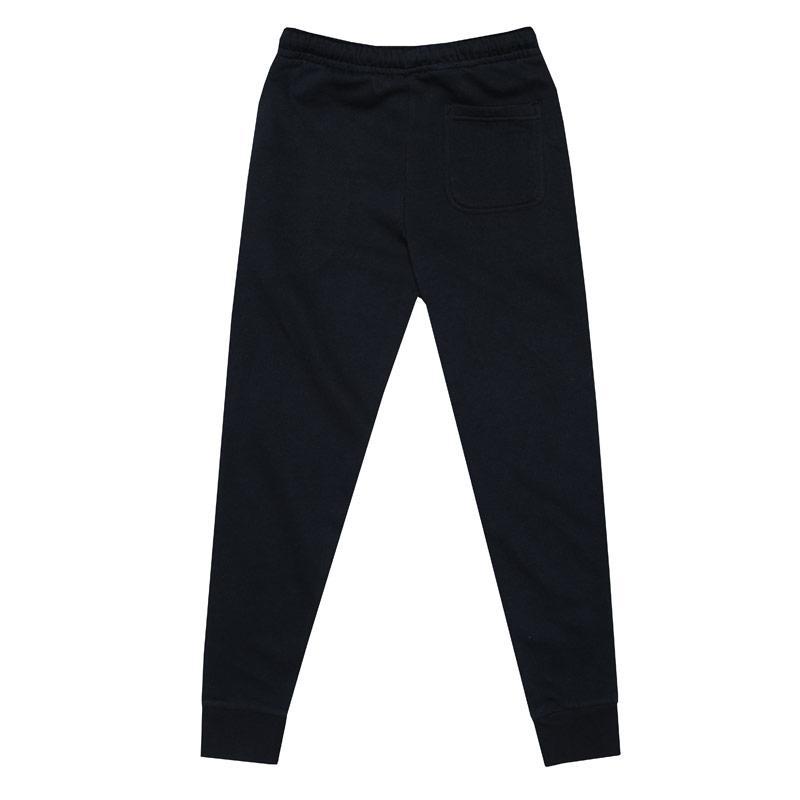 Kalhoty Money Junior Boys Black Label BB Jog Pants Navy