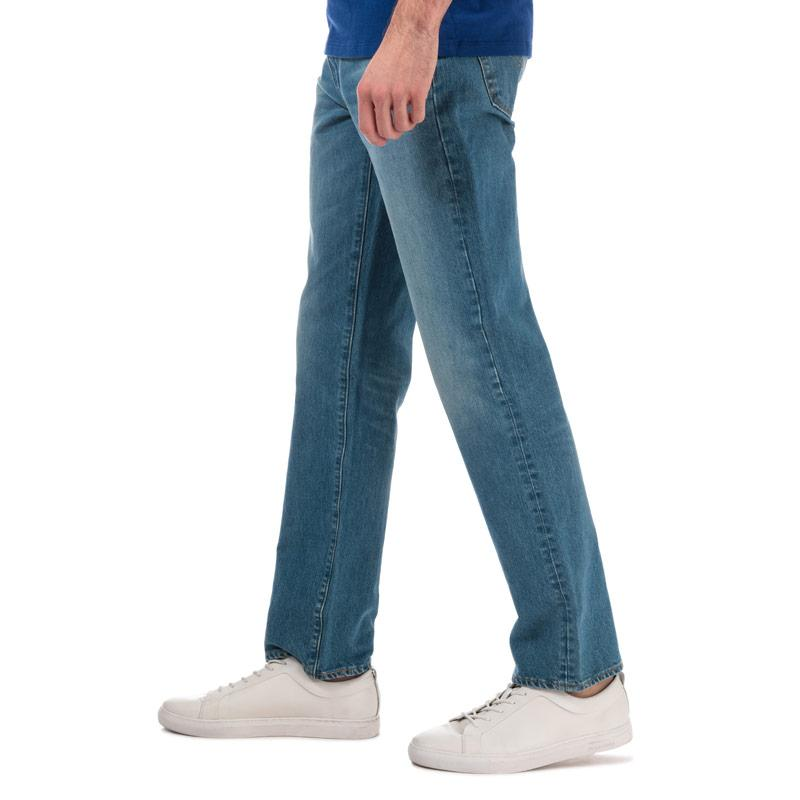 Levis Mens 514 Straight Fit Jeans Denim